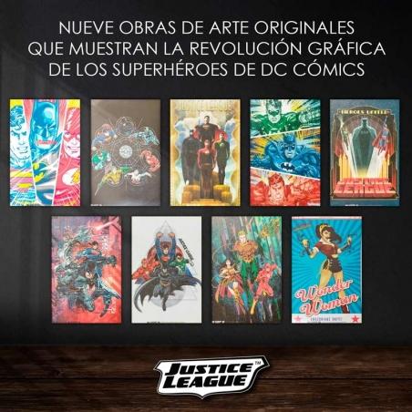 Lienzos Liga de la Justicia. DC COMICS (marzo)