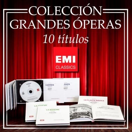COLECCIÓN GRANDES ÓPERAS EMI  (marzo)