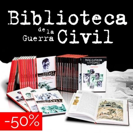 Biblioteca de la Guerra Civil Española (-50 %)